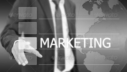 business_hand_push_marketing_word